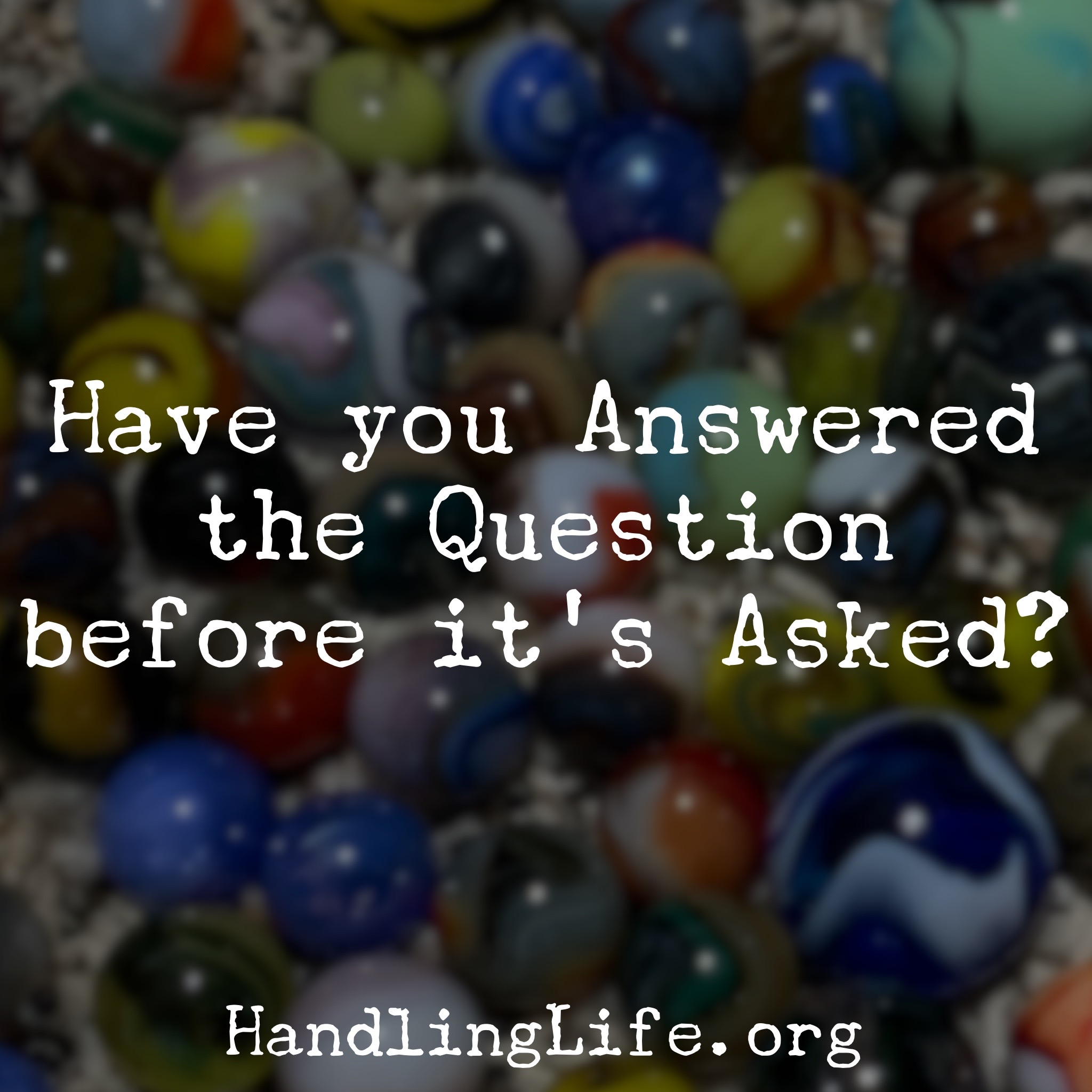 Artwork for Have you Answered the Question?