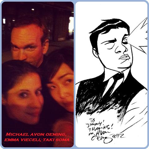Episode 443 - Post-NYCC w/ Michael Avon Oeming/Taki Soma/Emma Vieceli