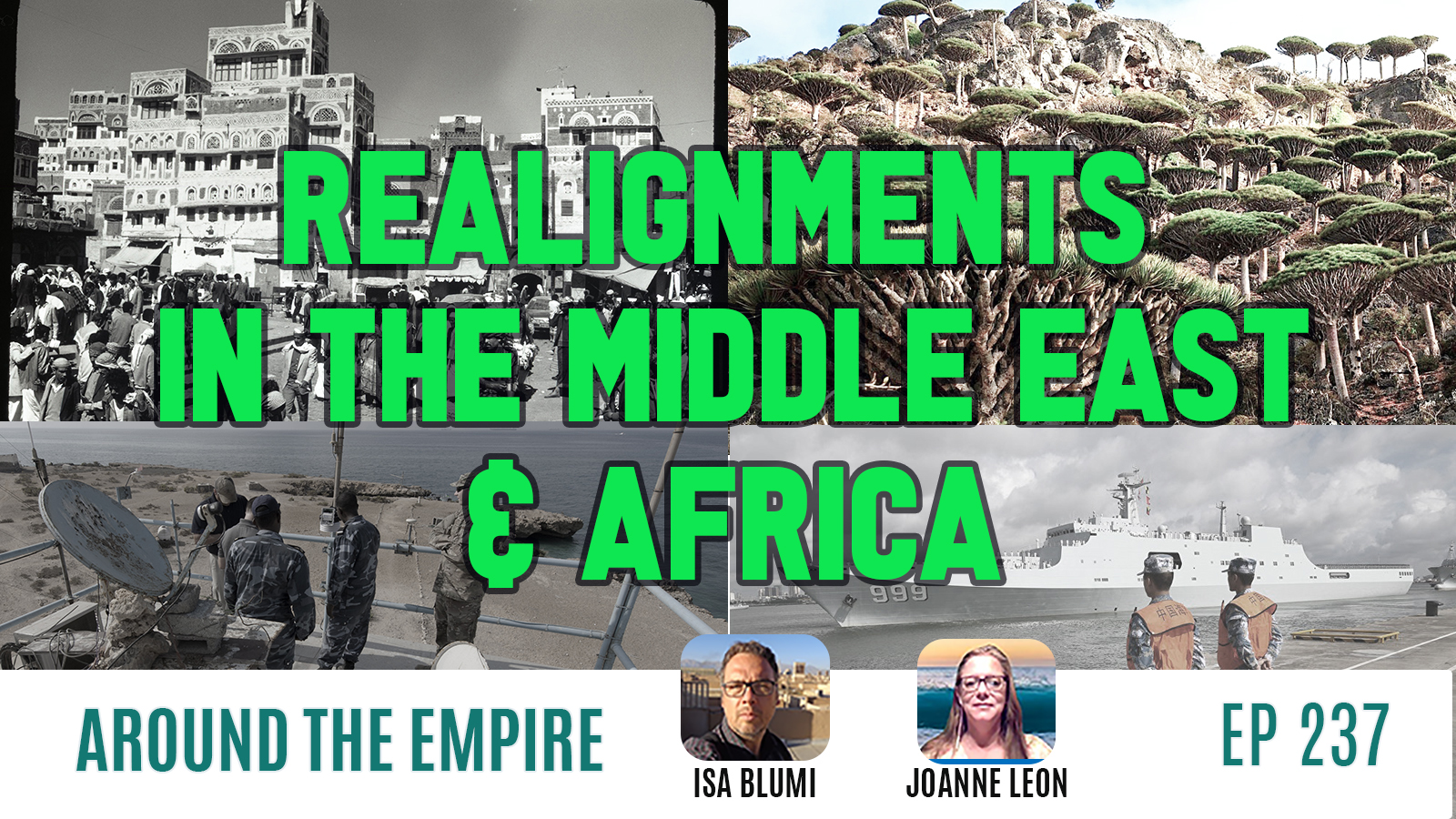 Ep 237 Realignments in the Middle East & Africa feat Isa Blumi