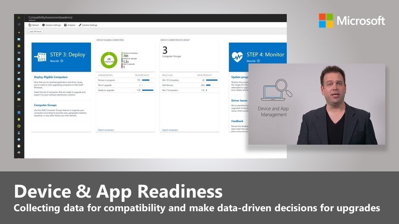 Artwork for Device and App Readiness - Step 1 of Modern Desktop Deployment