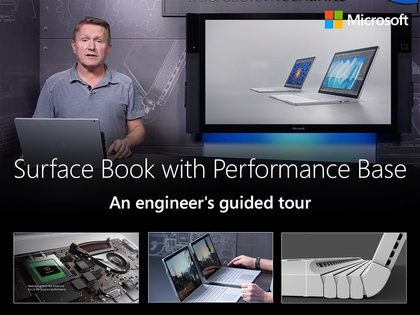 Artwork for The new Surface Book with Performance Base, an engineer's guided tour