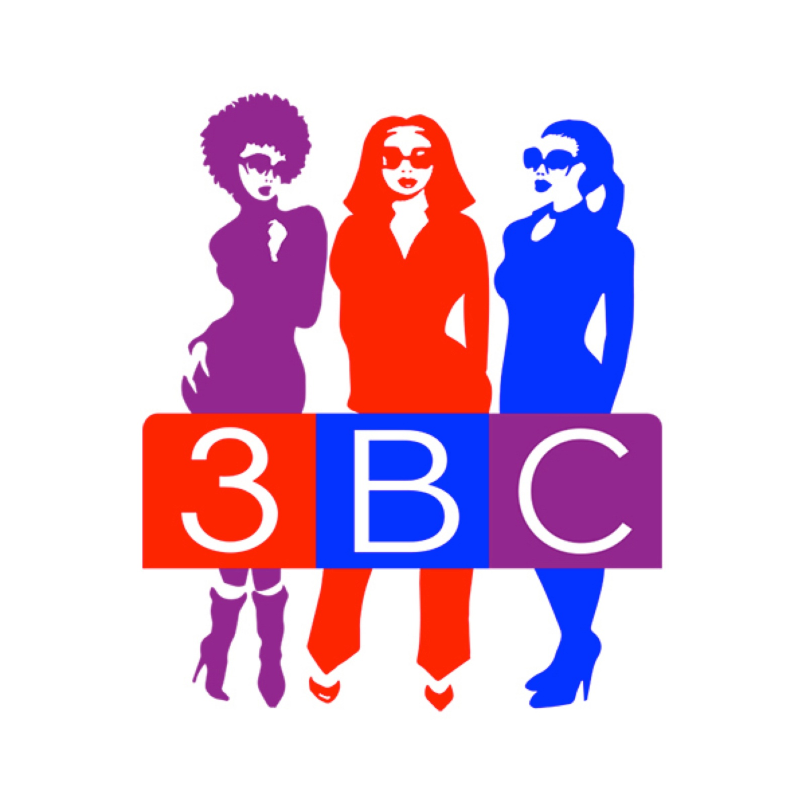 3BC (Three Black Chicks) powered by KUDZUKIAN show art