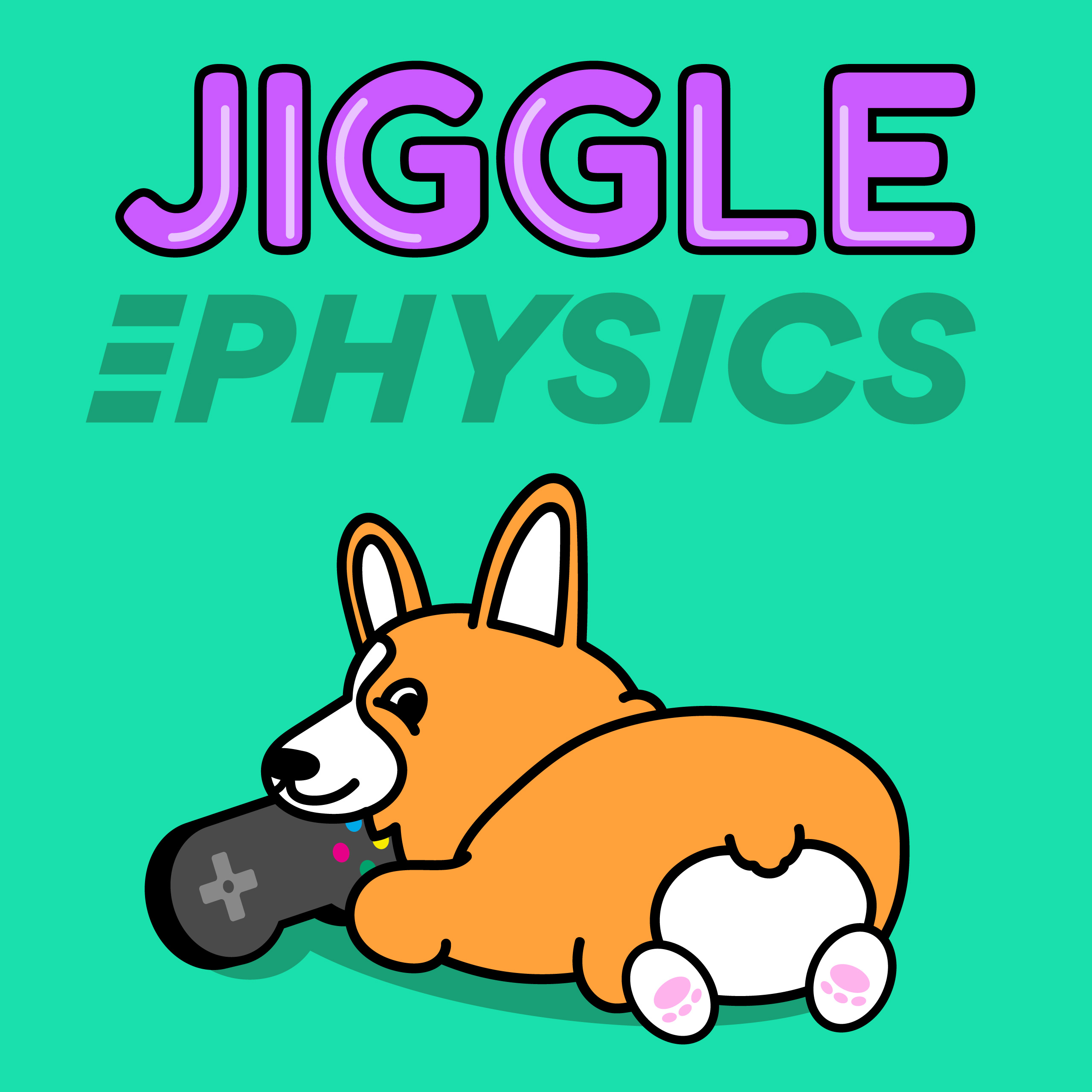 Jiggle Physics show art