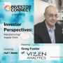 Artwork for Investor Perspectives on Manufacturing/Supply Chain Featuring Gregory Foster of Vizen Analytics