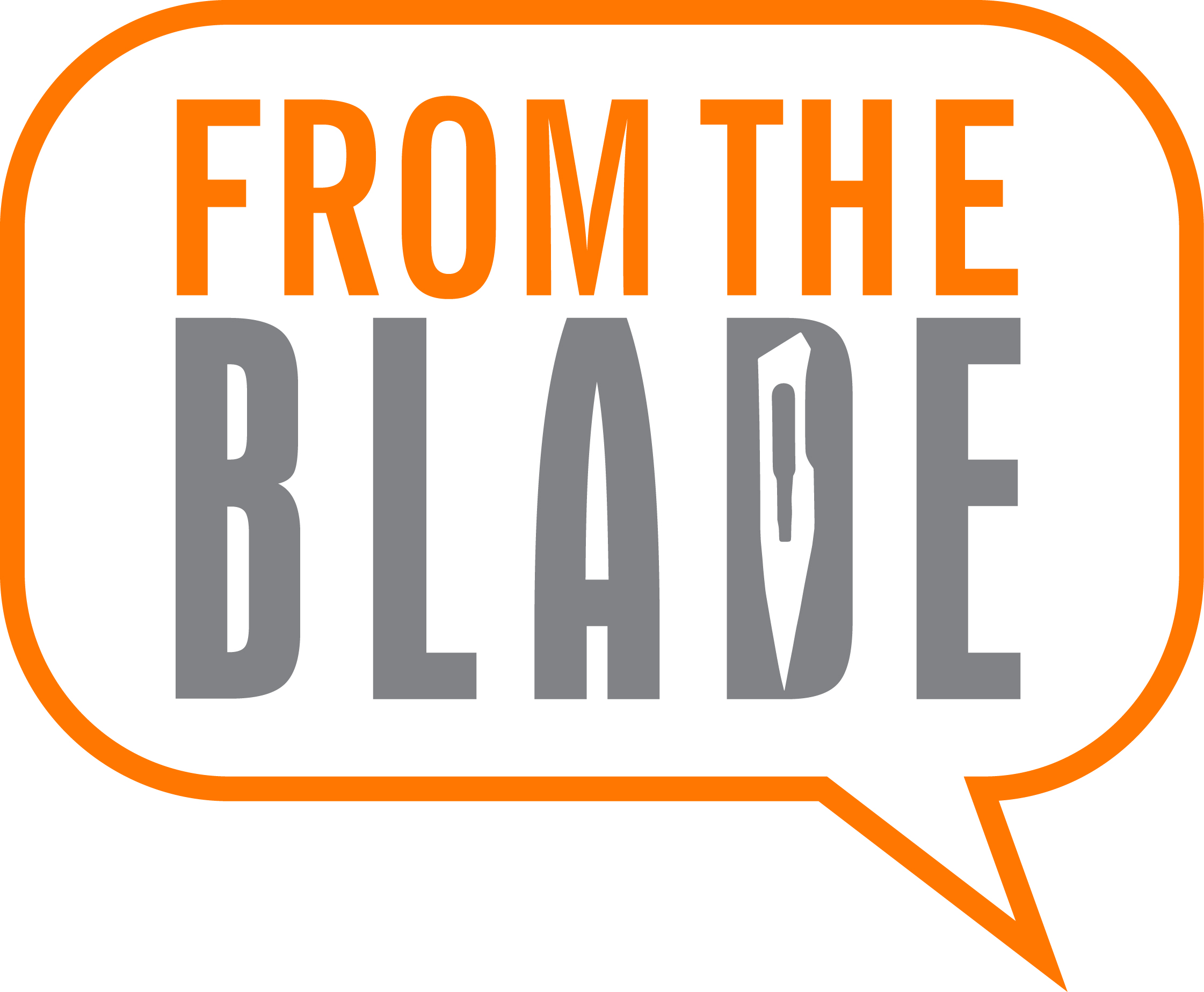 fromtheblade's podcast show art