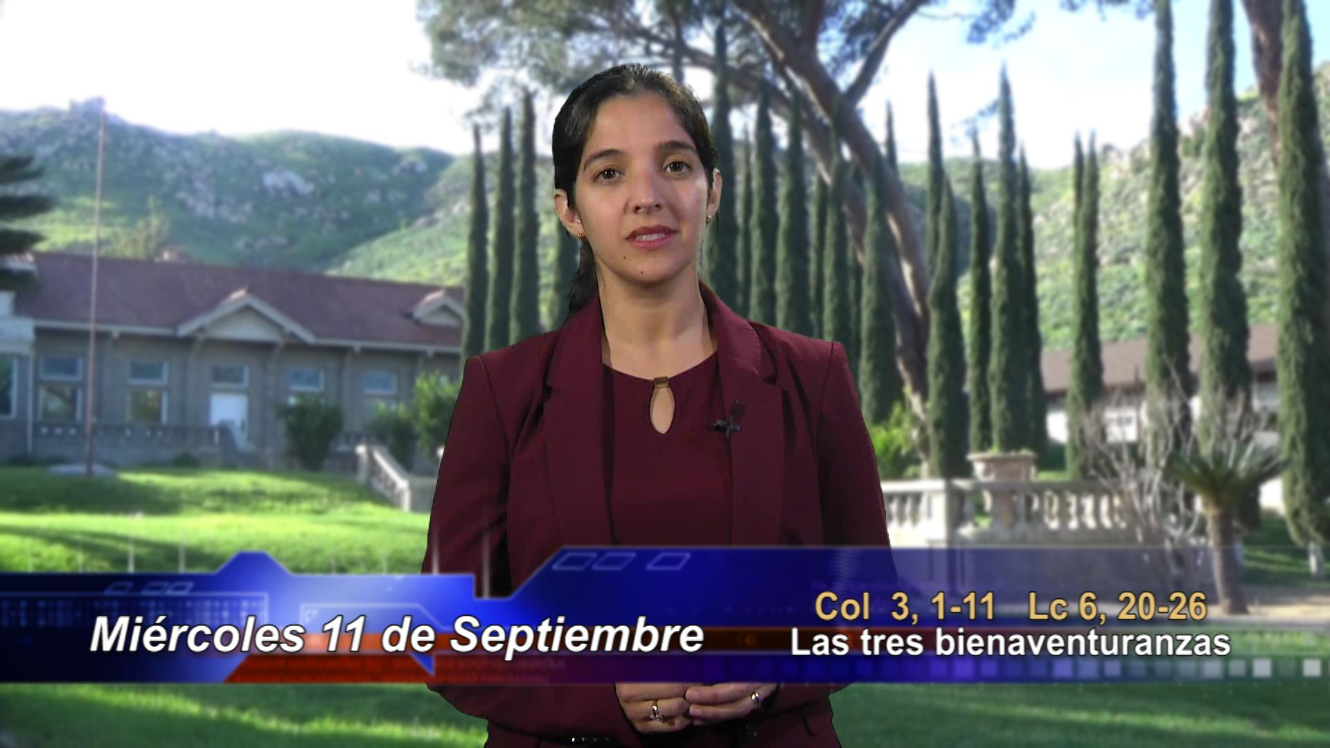 Artwork for Dios te Habla con María Nieves Petrusek;  Tema el hoy: Las tres bienaventuranzas