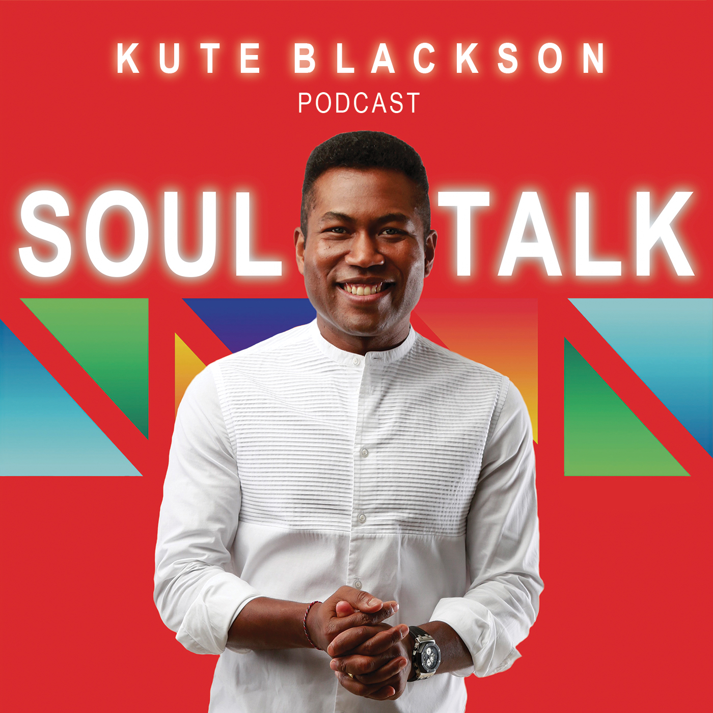 SoulTalk with Kute Blackson show art