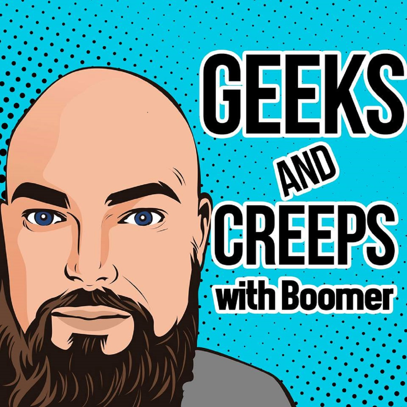 Geeks and Creeps Podcast show art