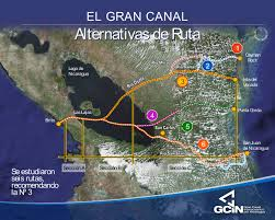 Transoceanic Canal in Nicaragua