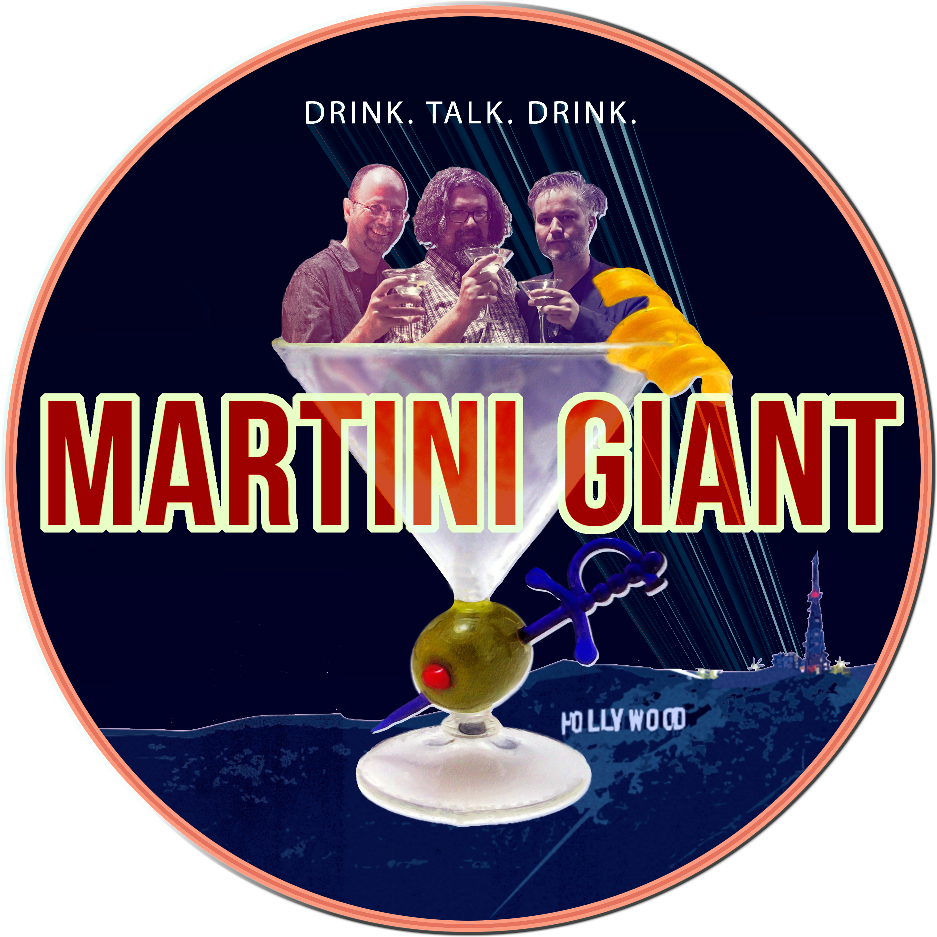 Martini Giant show art