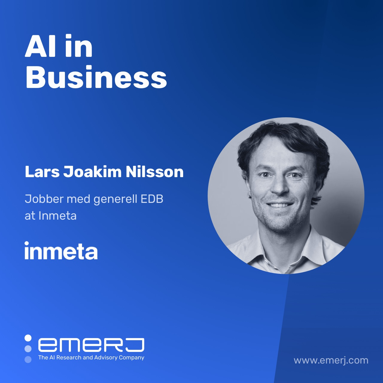Enterprise AI Adoption is Different in Europe - with Lars Joakim Nilsson of Inmeta
