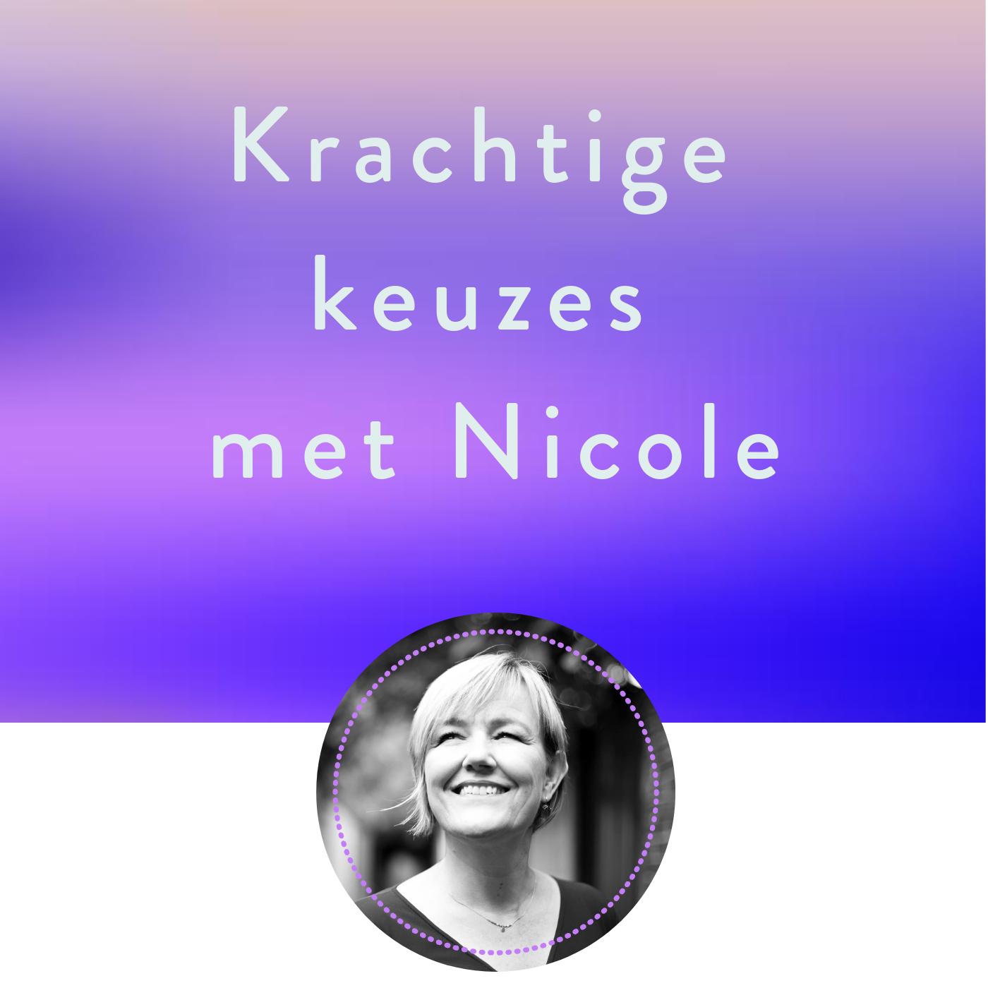 Krachtige keuzes met Nicole show art