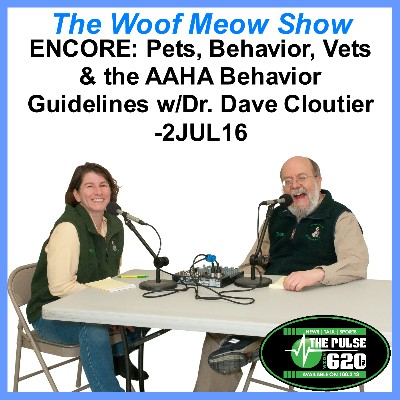 ENCORE: Pet Behavior, Vets & The AAHA Canine and Feline Behavior Management Guidelines – Dr. Dave Cloutier – Veazie Veterinary Clinic