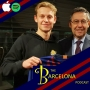 Artwork for What does Frenkie de Jong's signing mean for Barcelona? Profiling de Jong with Nüel Weinchard [TBPod124]