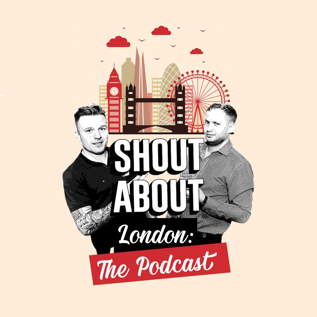 Shout About London show art