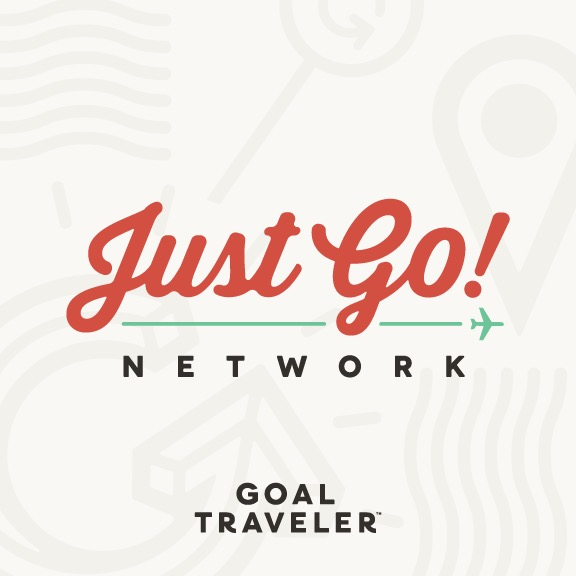 GOAL Traveler's The Just Go Network show art
