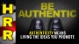 Artwork for Authenticity means LIVING the ideas you PROMOTE