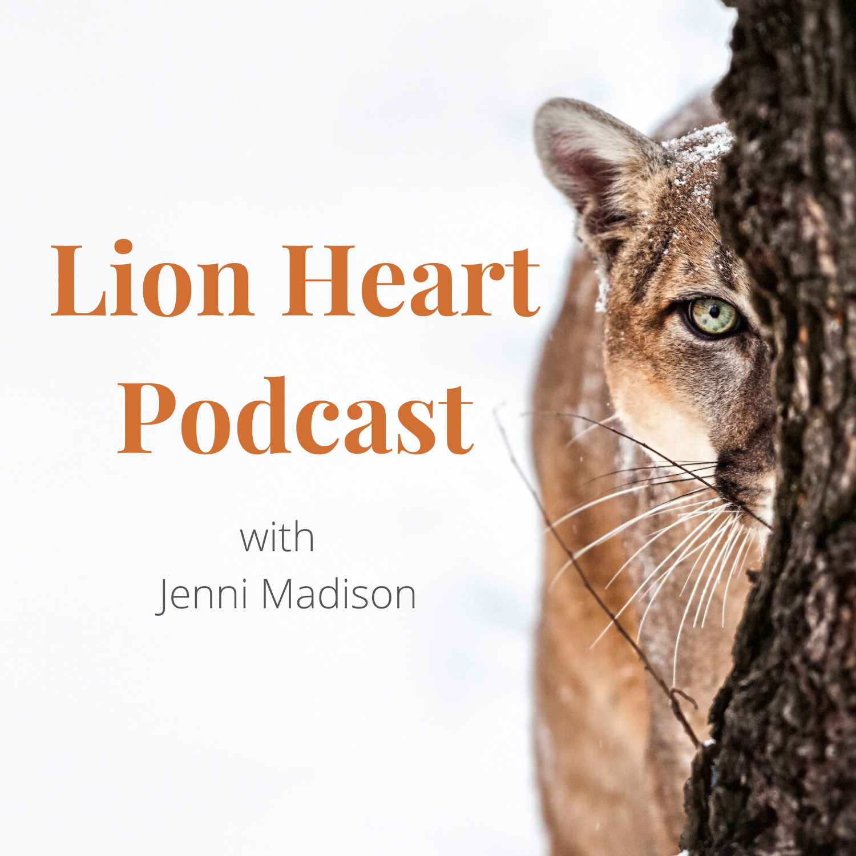Lion Heart Podcast show art