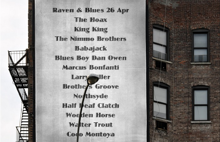 Raven and Blues 25 Apr 2014
