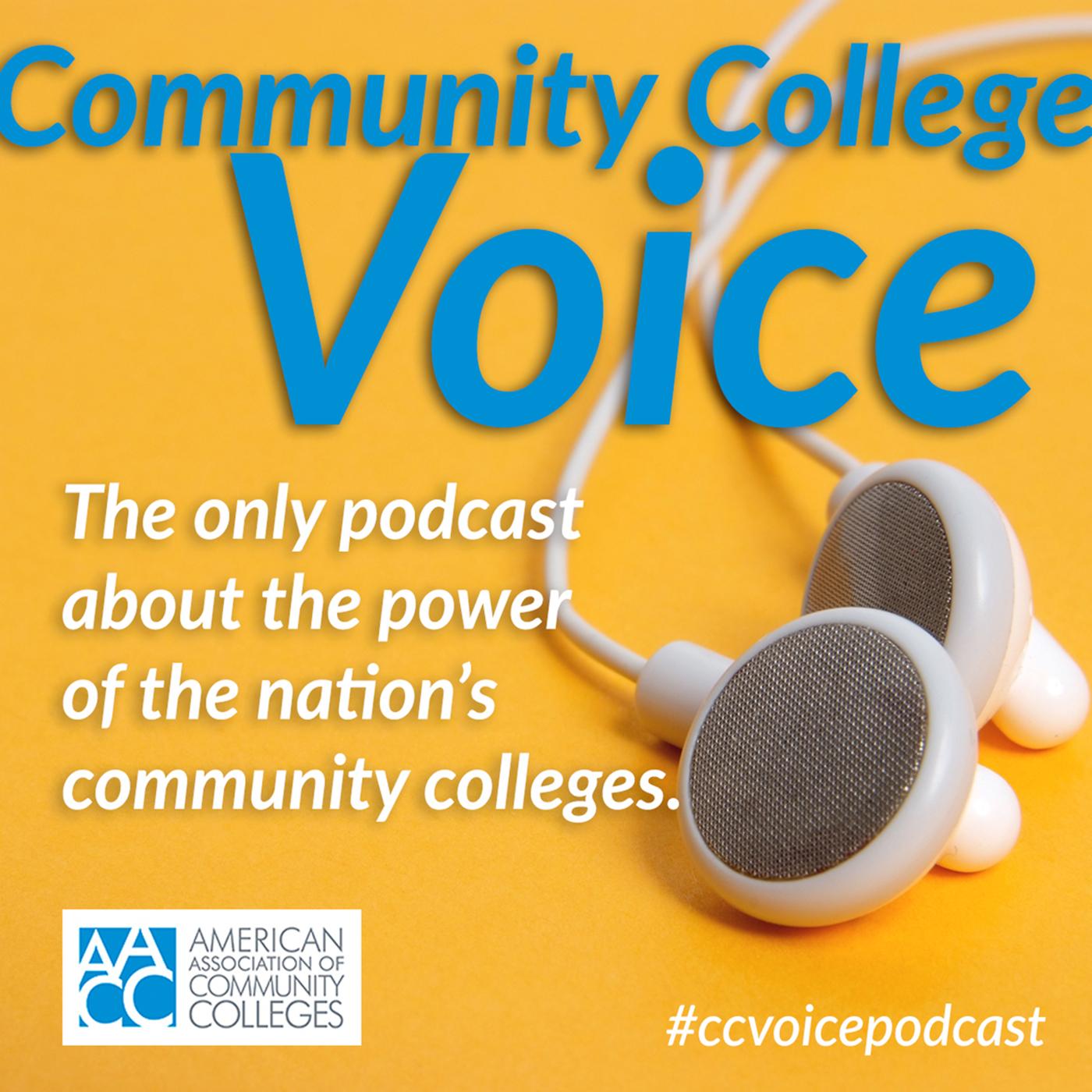 Community College Voice Podcast show art