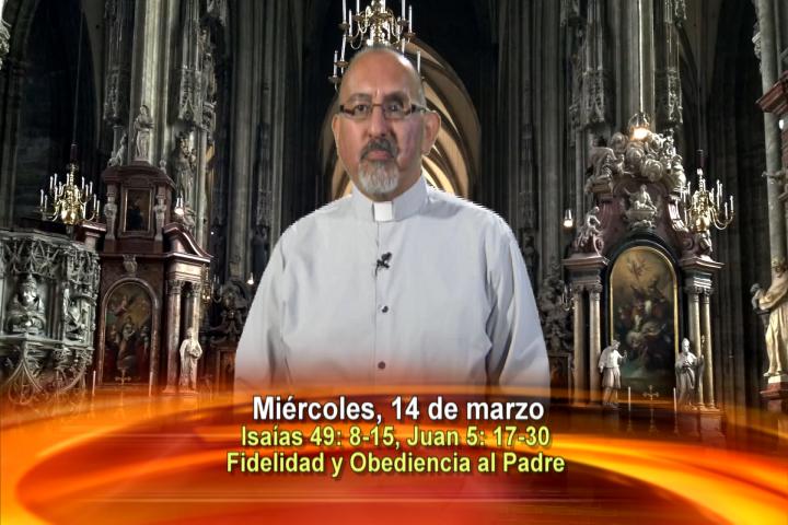 Artwork for Dios te Habla con Fr. Roberto Flores, SVD; Tema el hoy:  Fidelidad y Obediencia al Padre