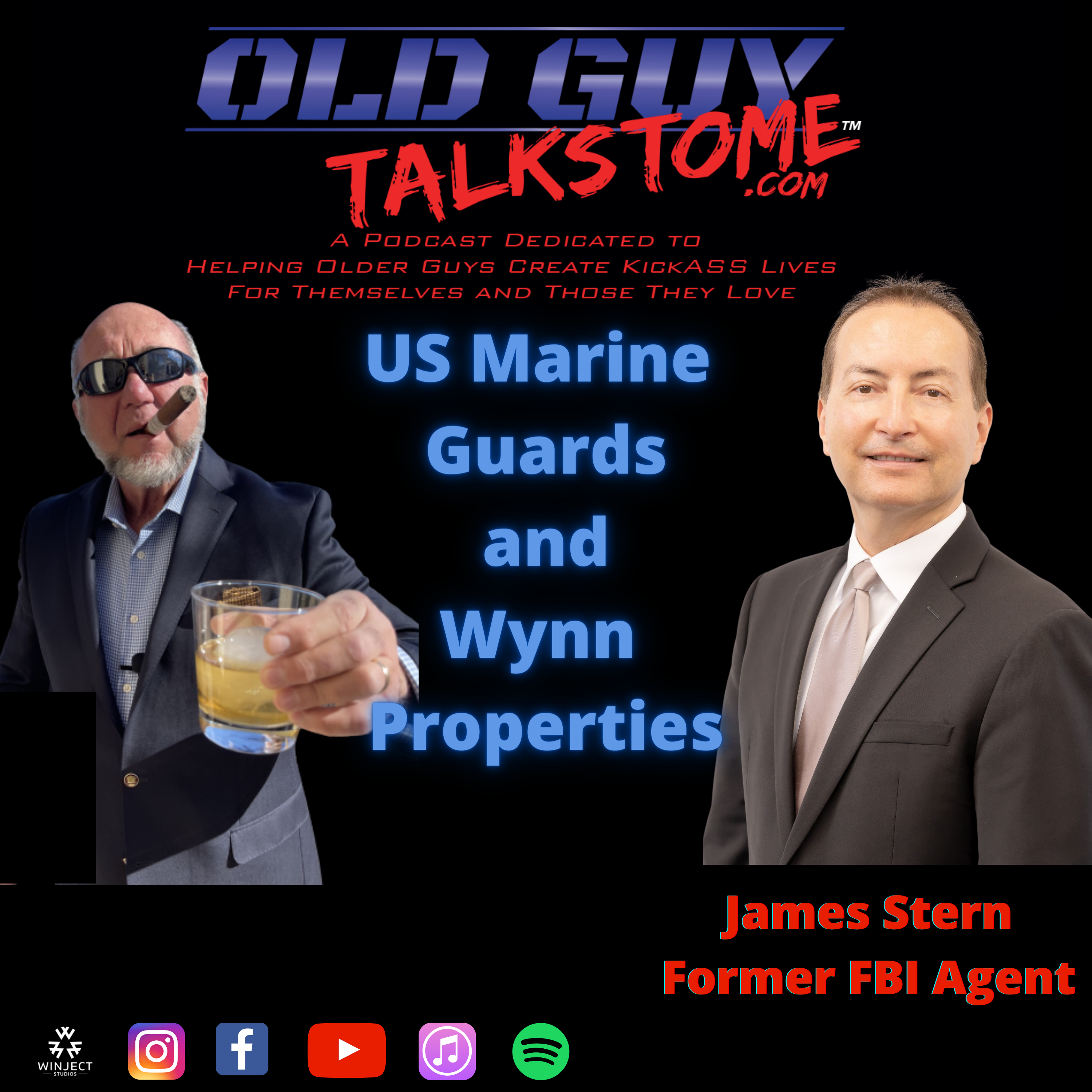 OldGuyTalksToMe - 83.  US Marine Guards and Wynn Properties