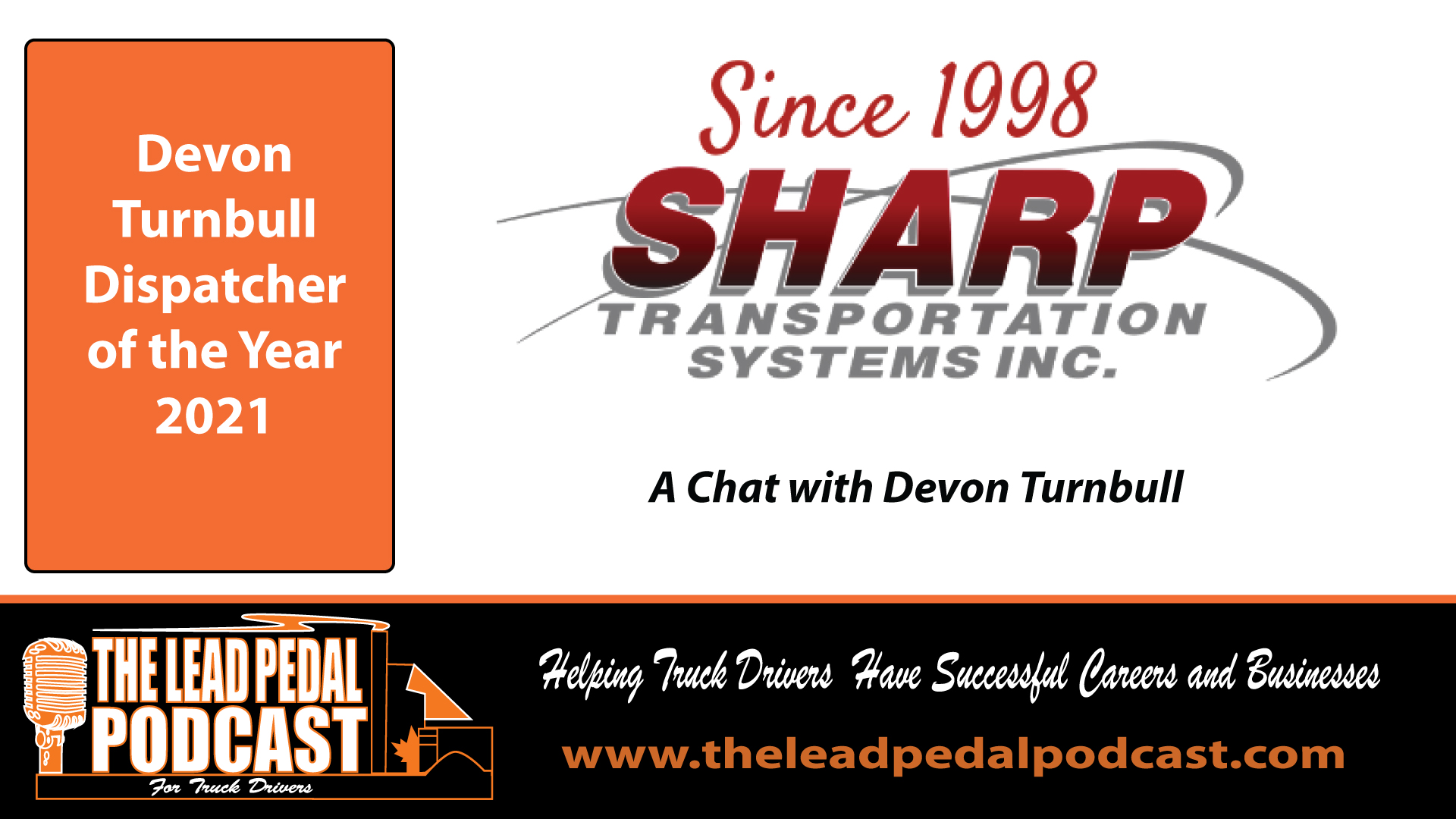 LP702 A Chat With Dispatcher of the Year 2021 - Devon Turnbull