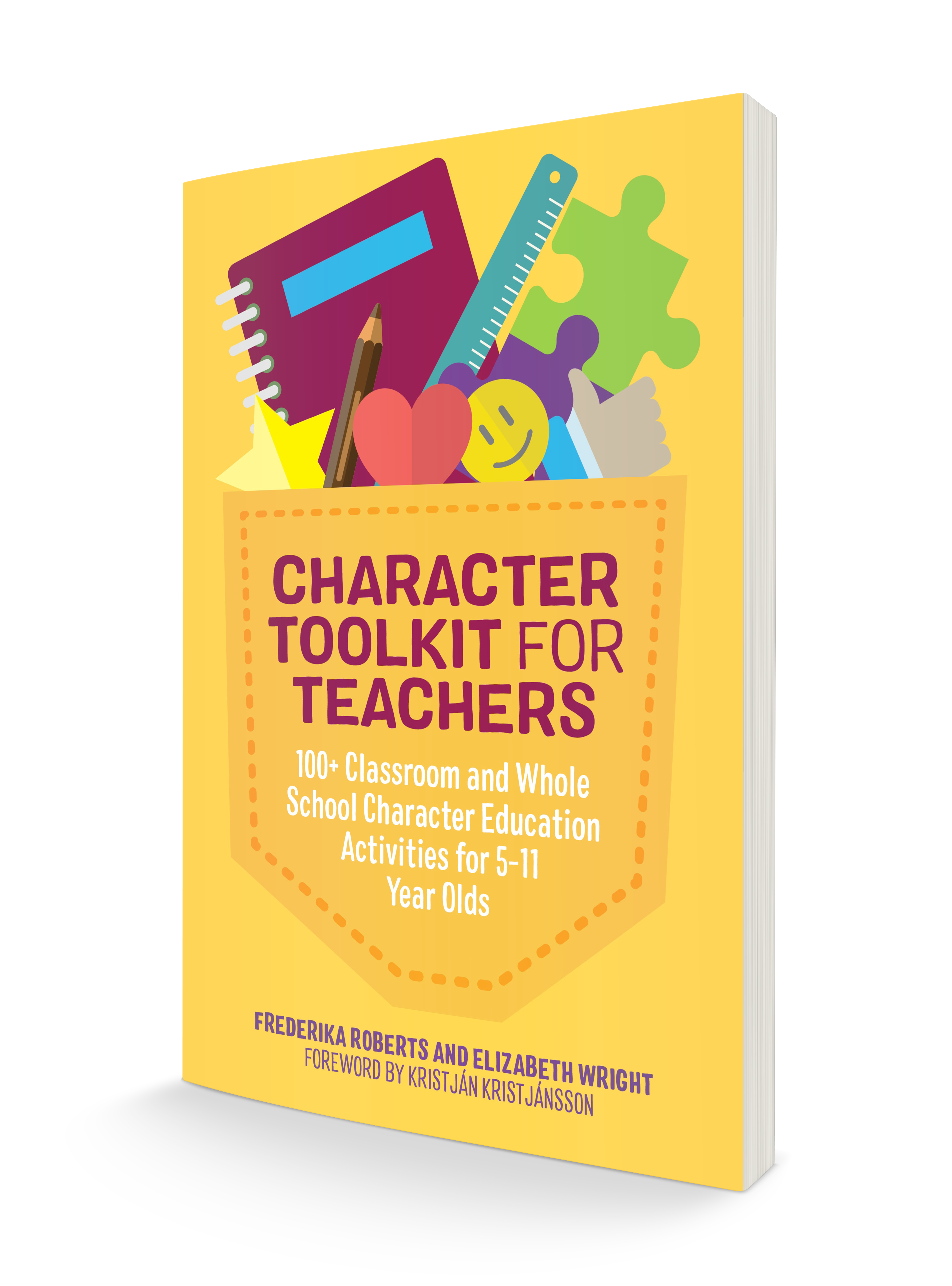 Character Toolkit for Teachers book cover 3D