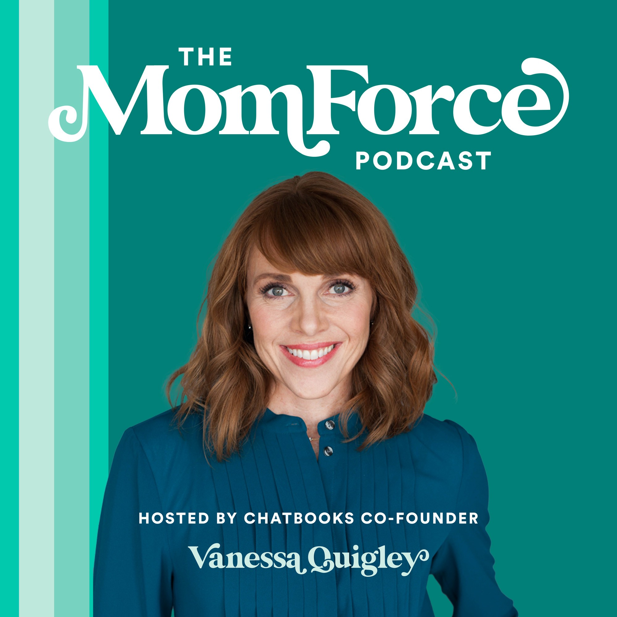 The MomForce Podcast Hosted by Chatbooks show art