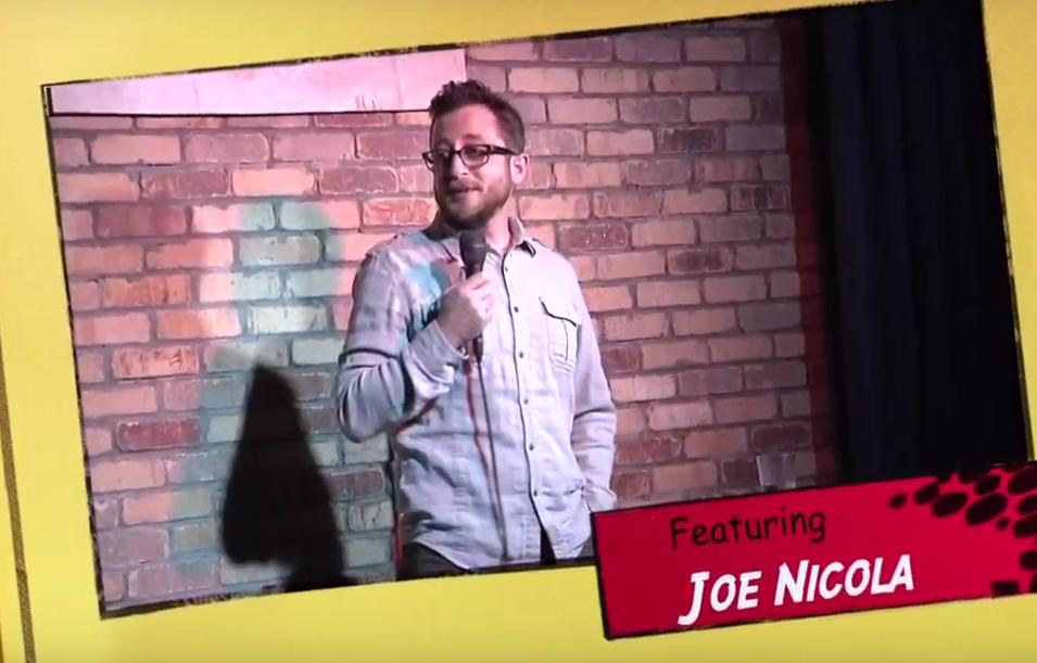 Stand Up Comedian Joe Nicola