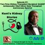 Artwork for Episode 57: Two-Time Kidney Transplant Recipient &AAKP Ambassador Chef Oliver Hale Transplant Anniversary Special
