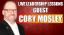 Artwork for Live Leadership Lessons from The FRONT with guest Cory Mosley
