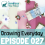 Artwork for 027: Drawing Everyday with Jennifer Orkin Lewis
