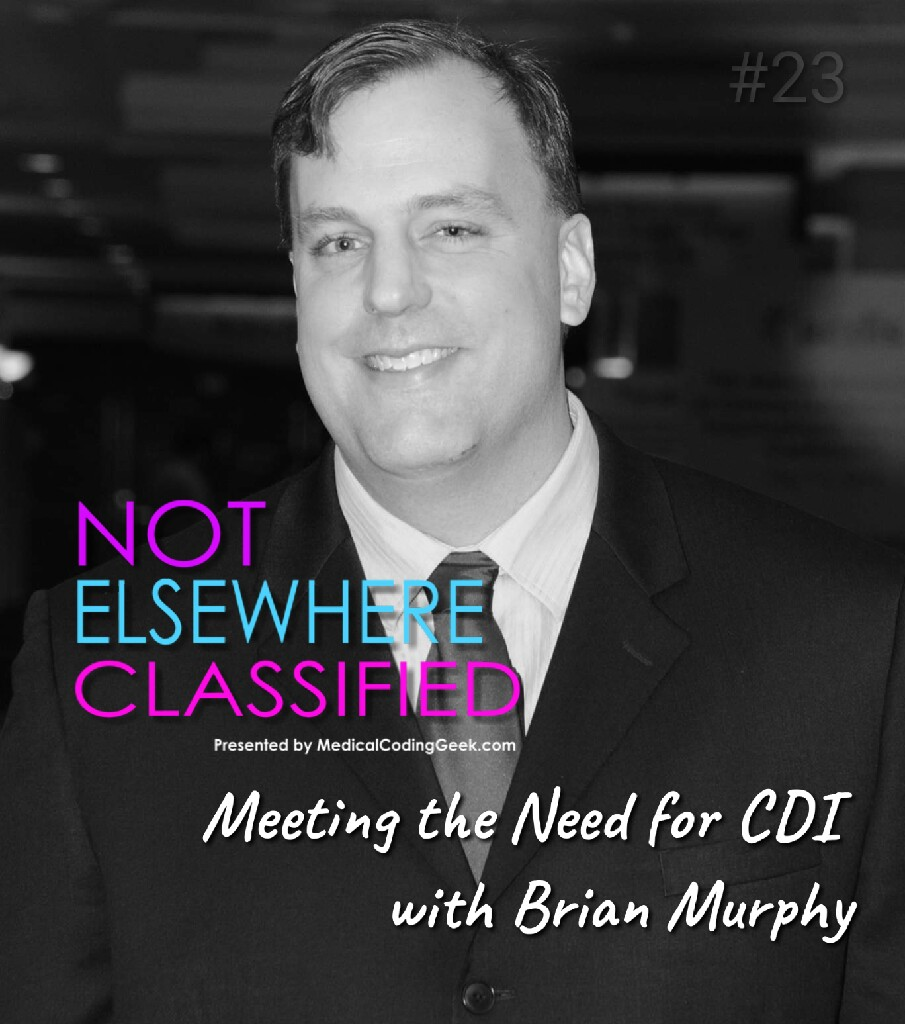 Meeting the Need for CDI with Brian Murphy show art