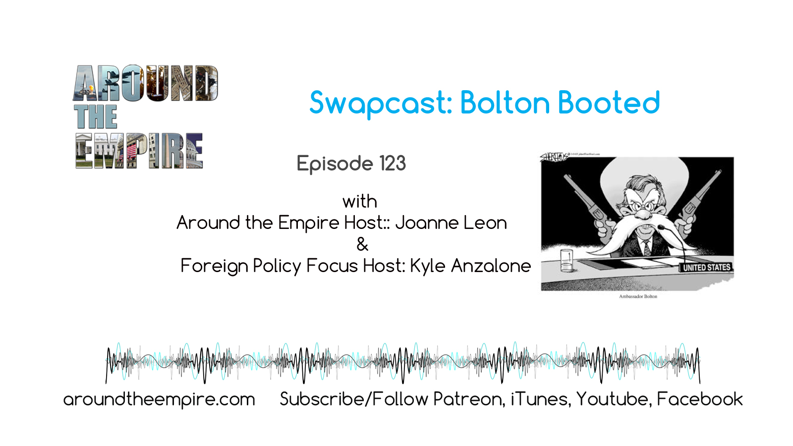 ep 123 Swapcast: Bolton Booted