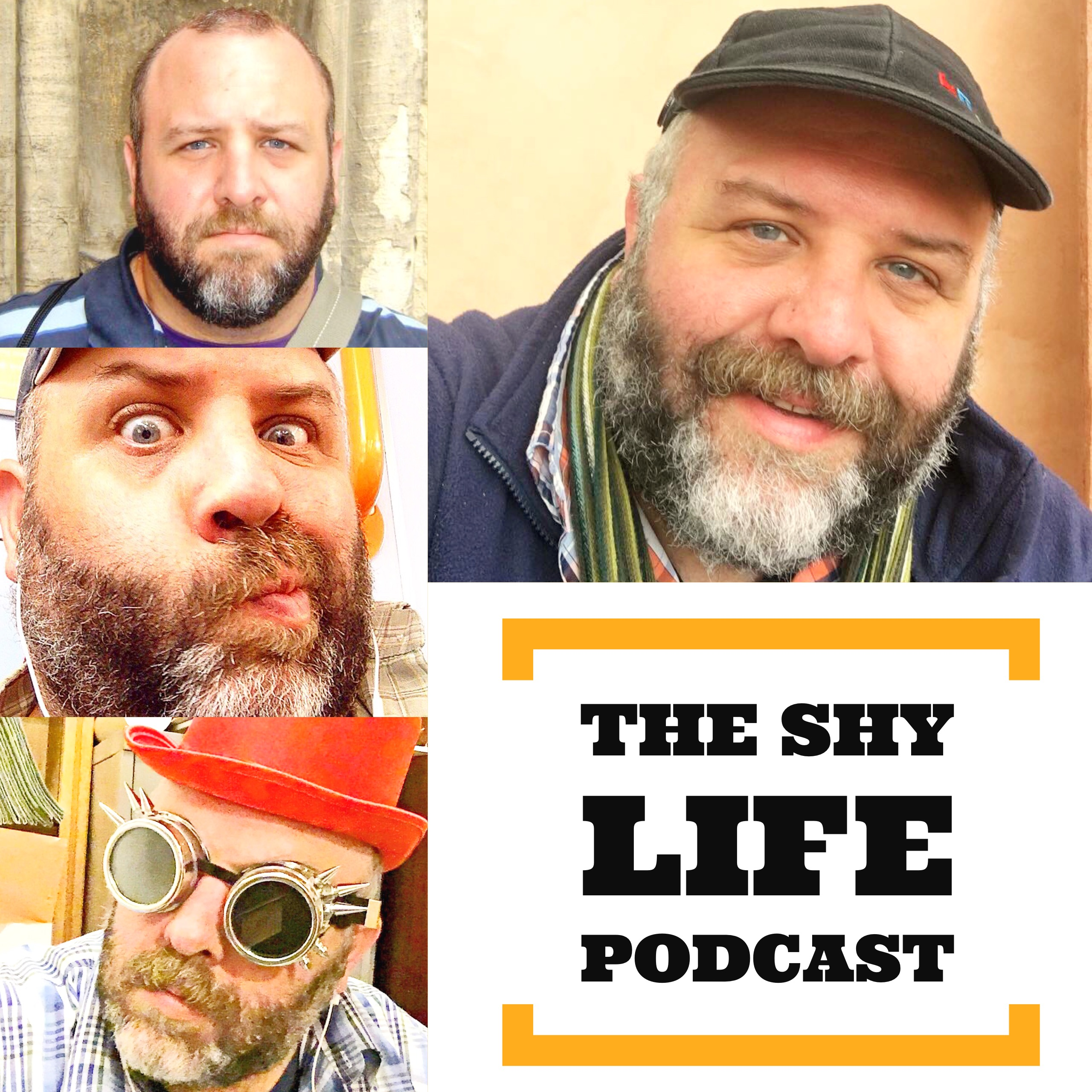THE SHY LIFE PODCAST show art