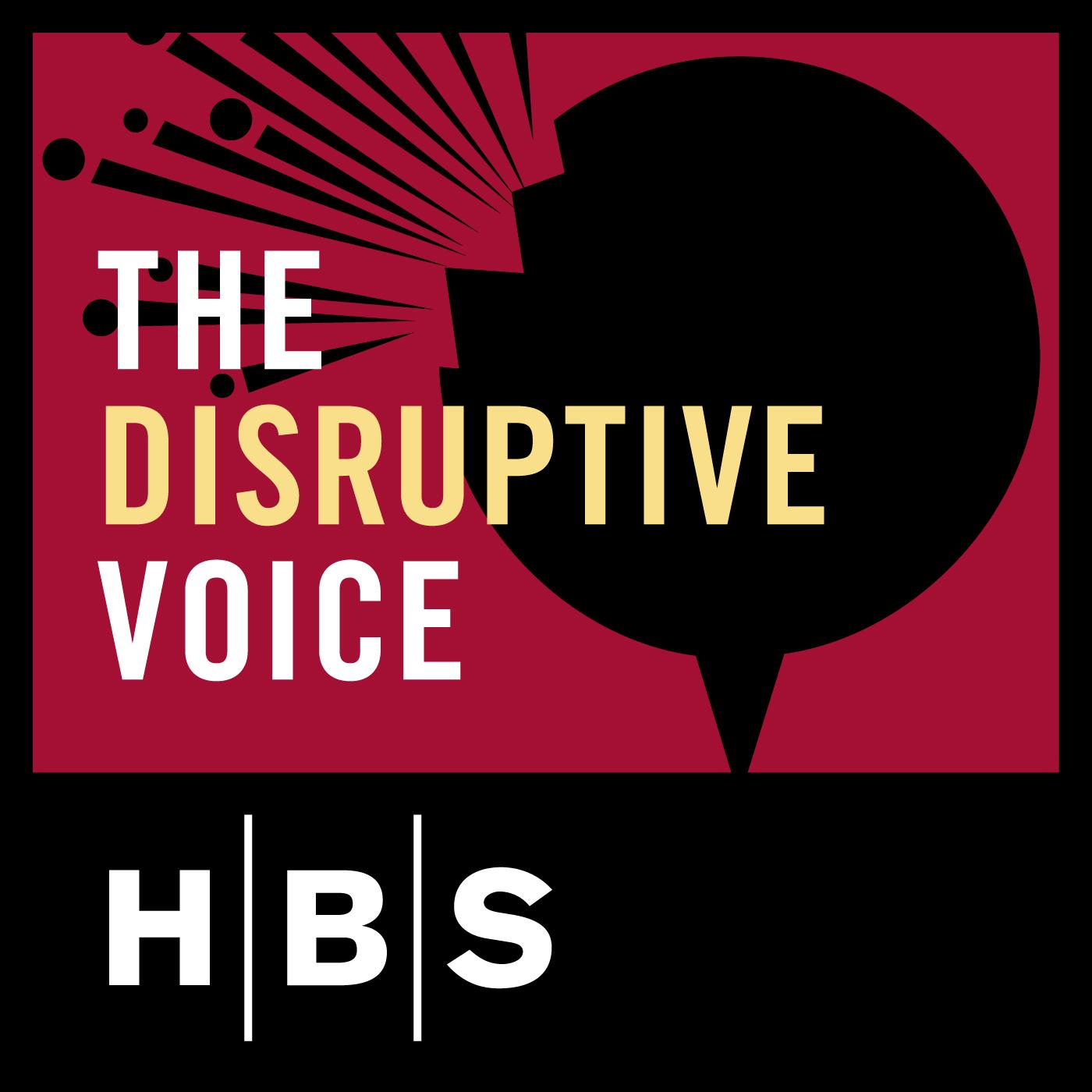 The Disruptive Voice show art