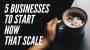 Artwork for 5 Businesses You Should Start In 2020