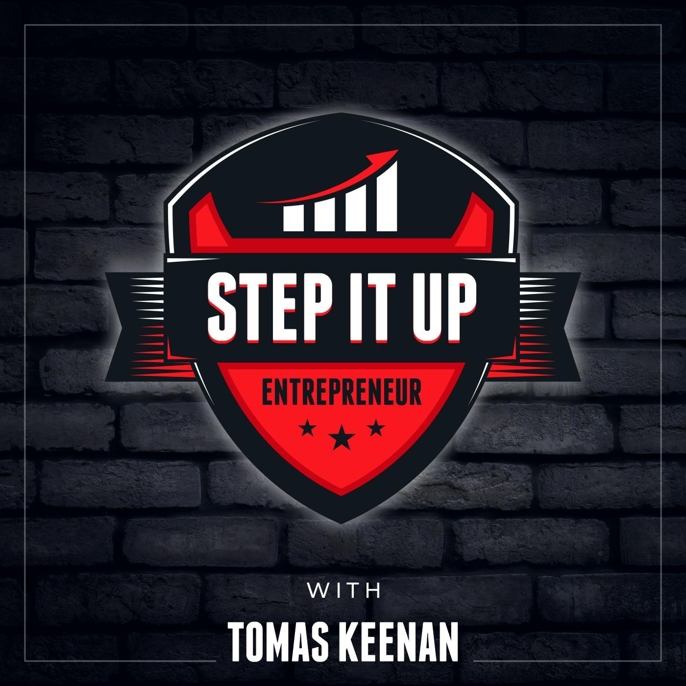 Step It Up Entrepreneur show art