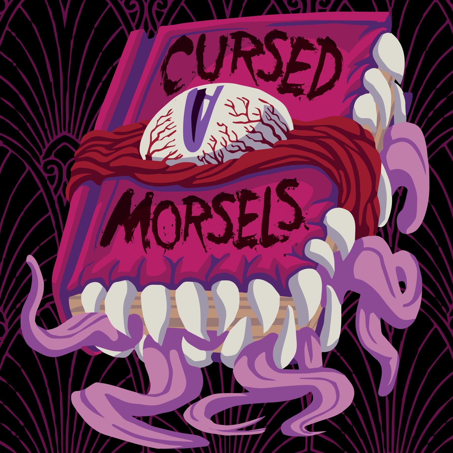 Cursed Morsels show art