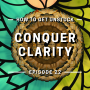 Artwork for 22: How to get unstuck. Conquer Clarity.