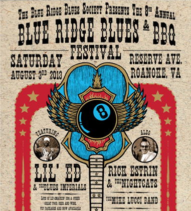 The BluzNdaBlood Show #171, Blue Ridge Blues & BBQ Preview!