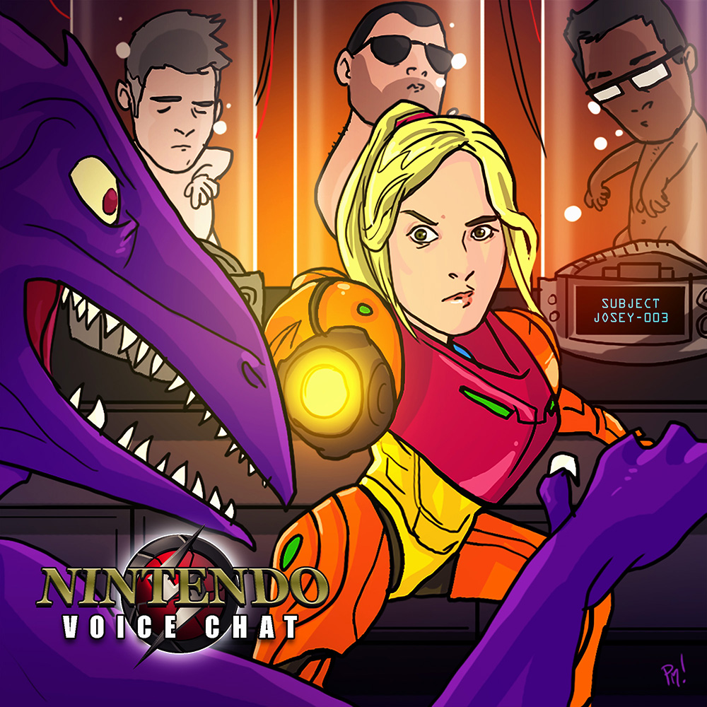 Nintendo Voice Chat: The Metroid Episode