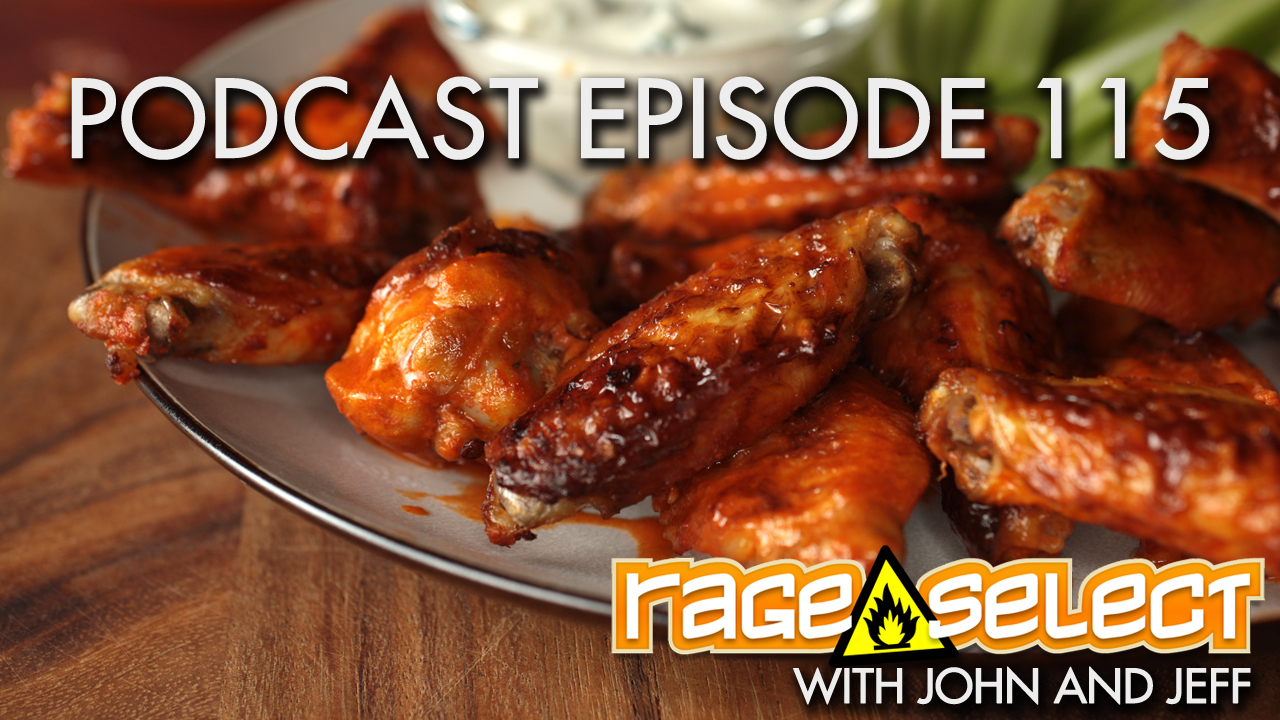 Rage Select Podcast Episode 115 - John and Jeff answer your questions!