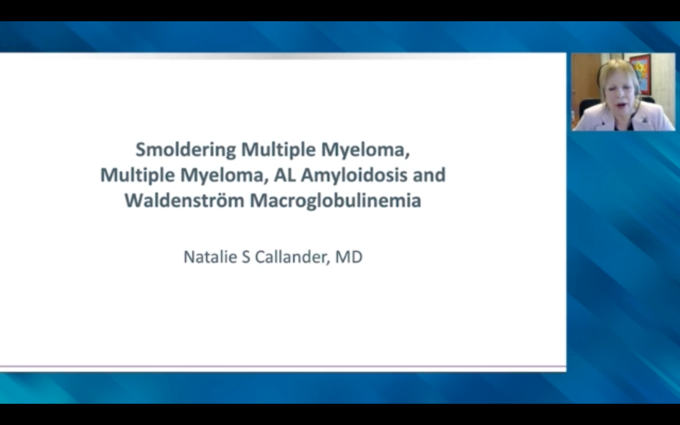 Artwork for Hematologic Oncology | Oncology Today with Dr Neil Love: Key Presentations on Multiple Myeloma, Waldenström Macroglobulinemia and Amyloidosis from the 2020 ASH Annual Meeting