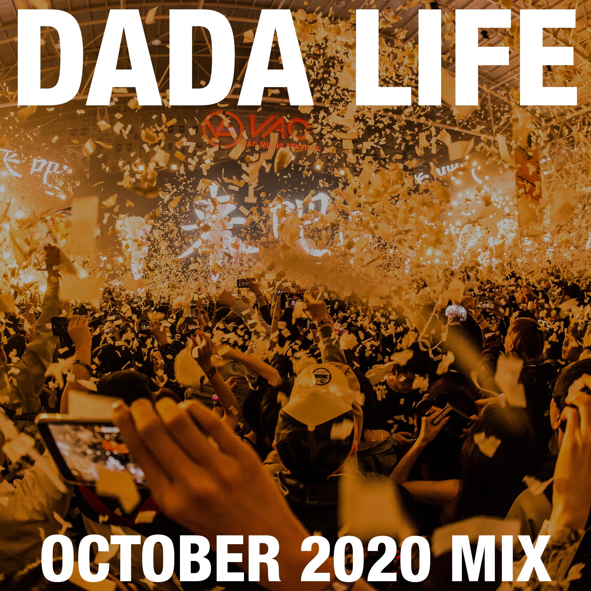 Dada Land October 2020 Mix show art