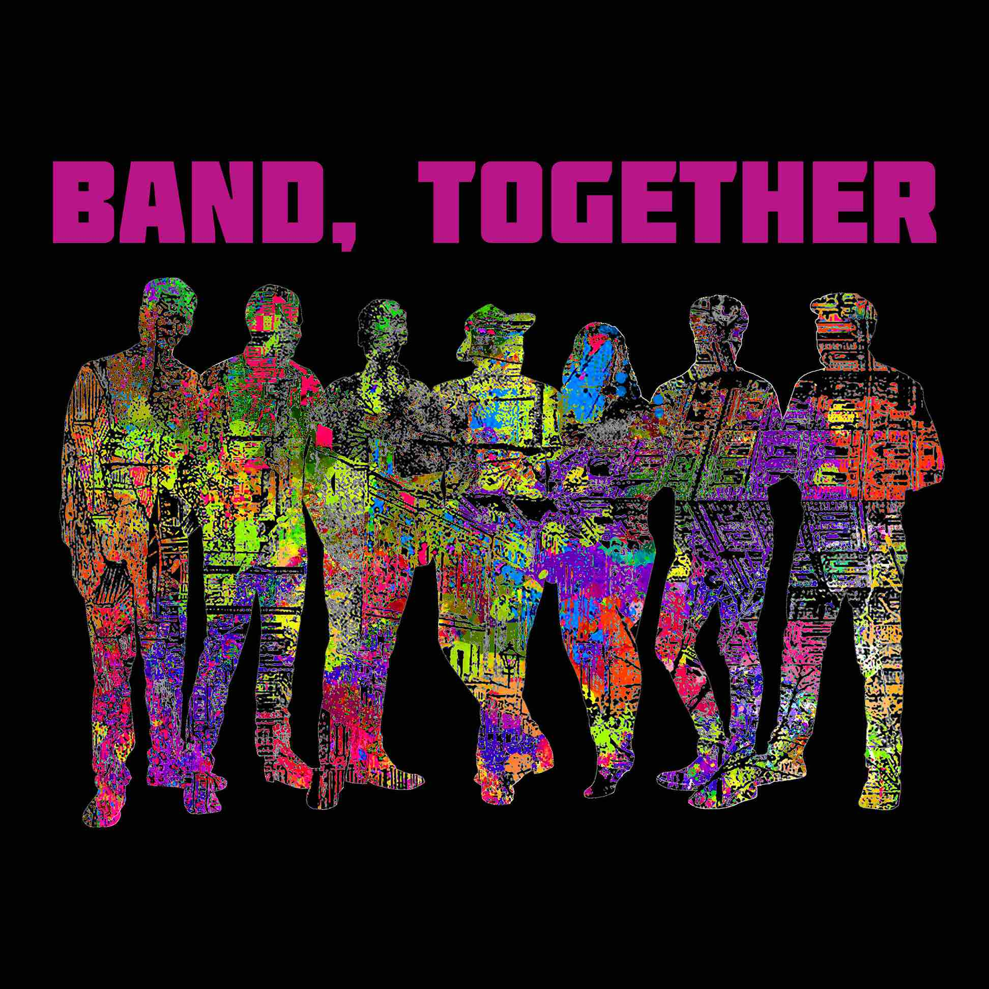 Band, Together show art