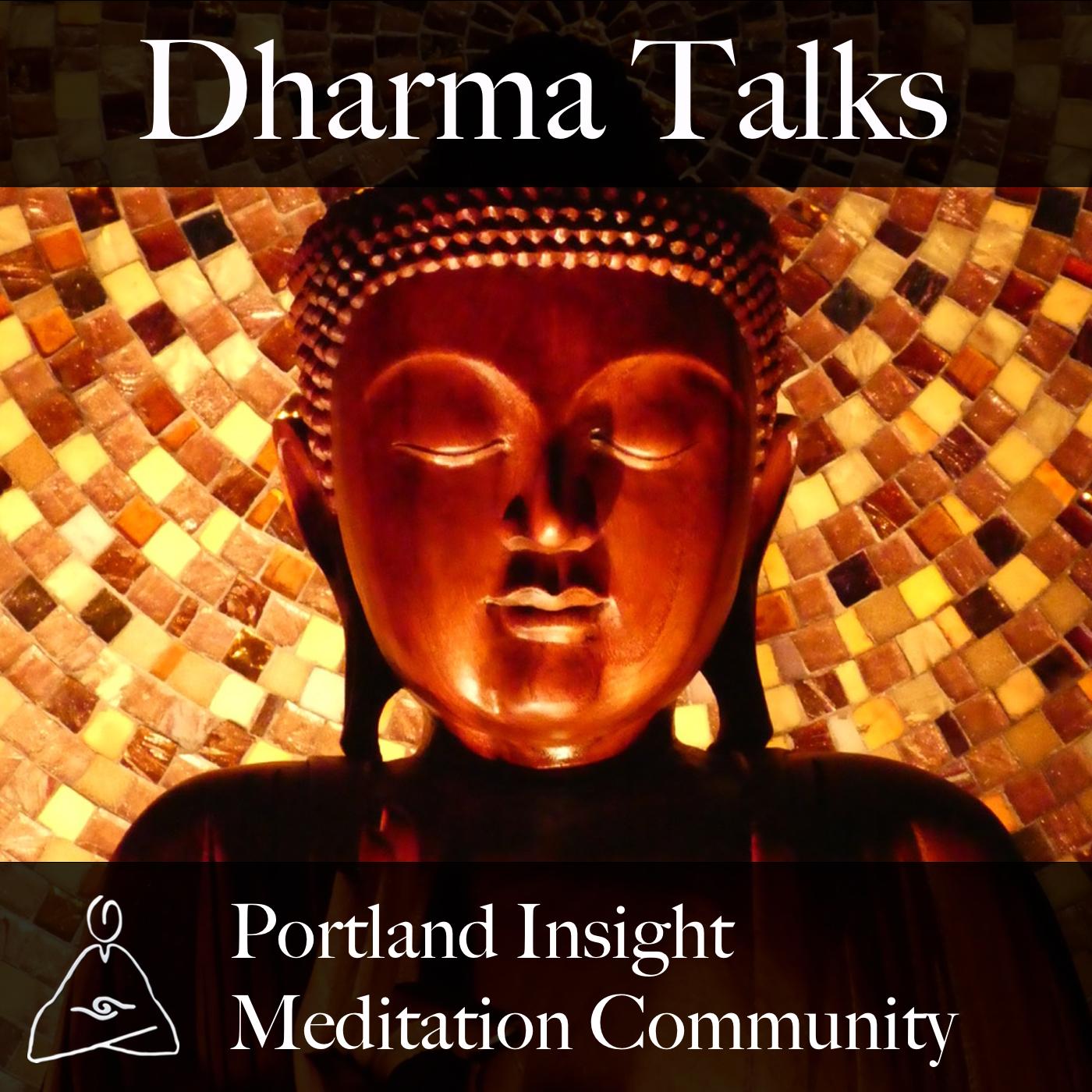 Portland Insight Meditation Community Dharma Talks show art
