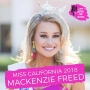 Artwork for #3 Podcast of 2019 - Miss California 2018 Mackenzie Freed - My Experience Competing at the Revamped Miss America 2.0