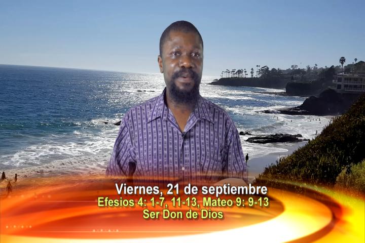 Artwork for Dios te Habla con Pablo Gbortsu, SVD  Tema el hoy: ser don de Dios
